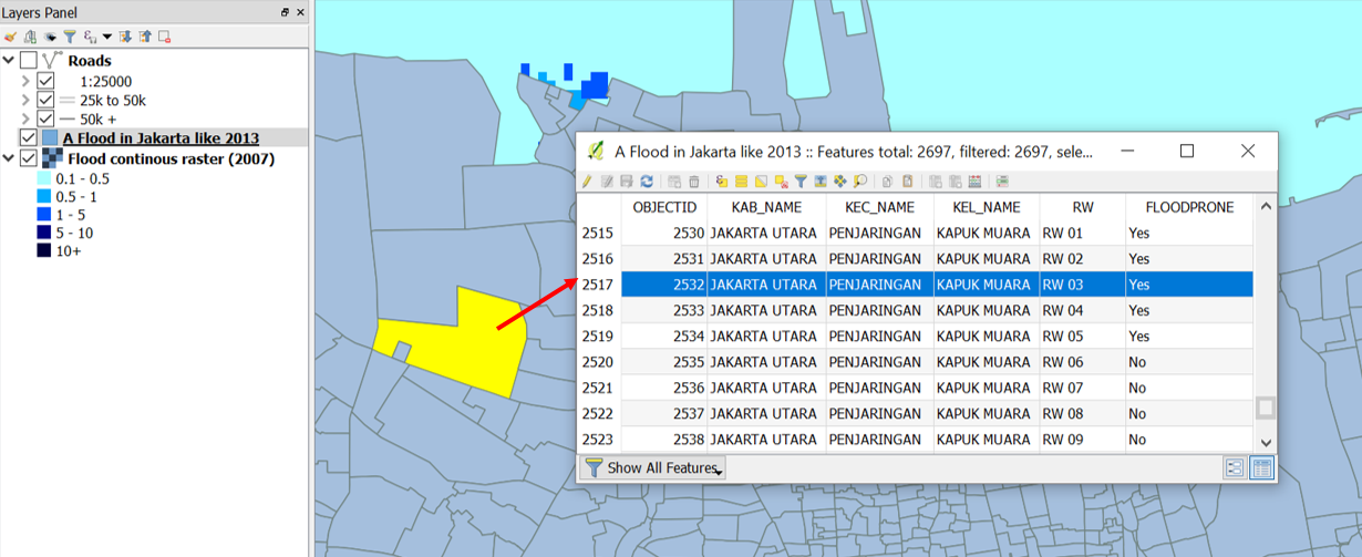 Introduction to QGIS — InaSAFE Documentation Project 3 0 0 documentation