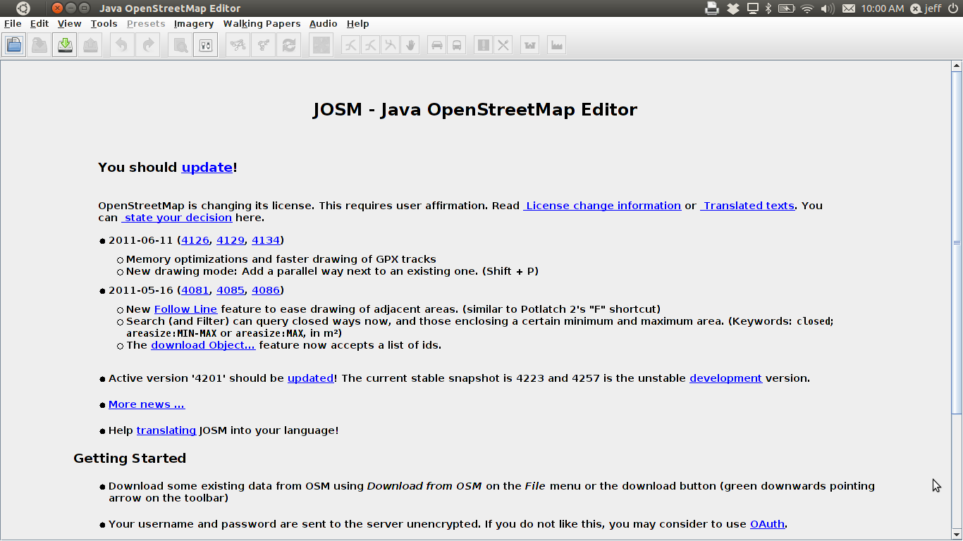 Module 3: Working with JOSM — InaSAFE Documentation Project